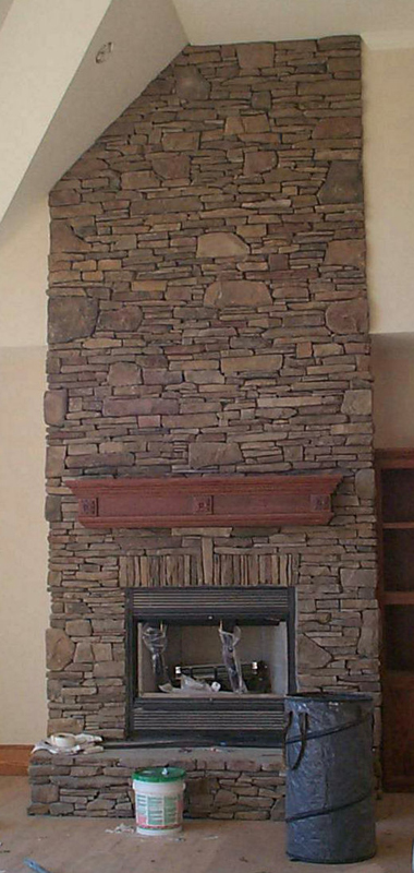 Cultured Stone Masonry Work