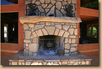 Stone Fireplace by Jeremiah LittleJohn.